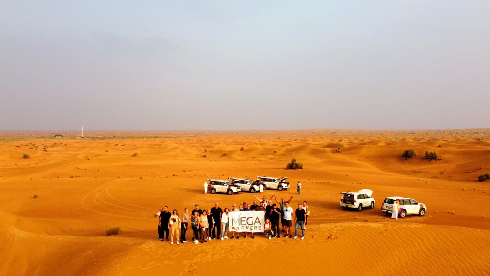 Ταξίδι επιβράβευσης των συνεργατών της Mega Brokers στο Ντουμπάι